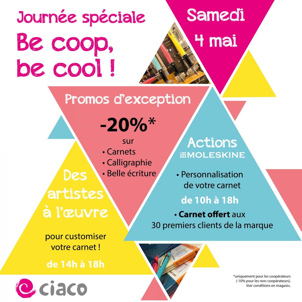 Journée spéciale Be coop, be cool ! - 4 mai 2019