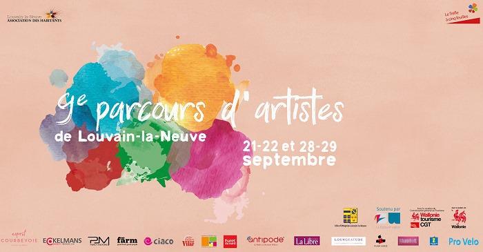 Parcours d'Artistes de Louvain-la-Neuve