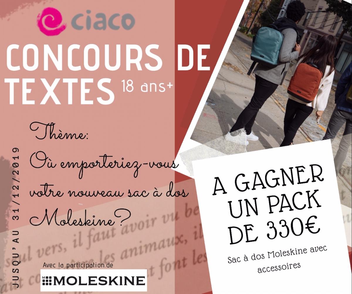 CONCOURS DE TEXTES