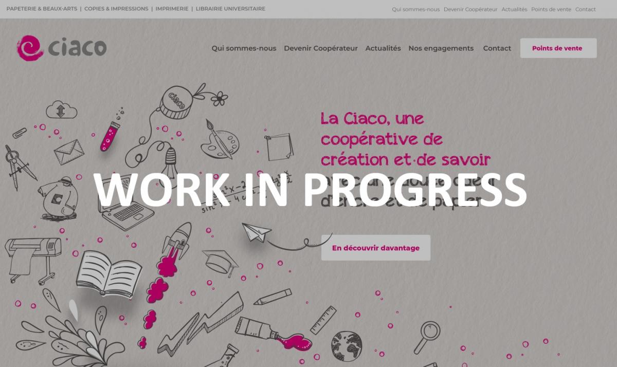 Découvrez le nouveau site de la Ciaco !