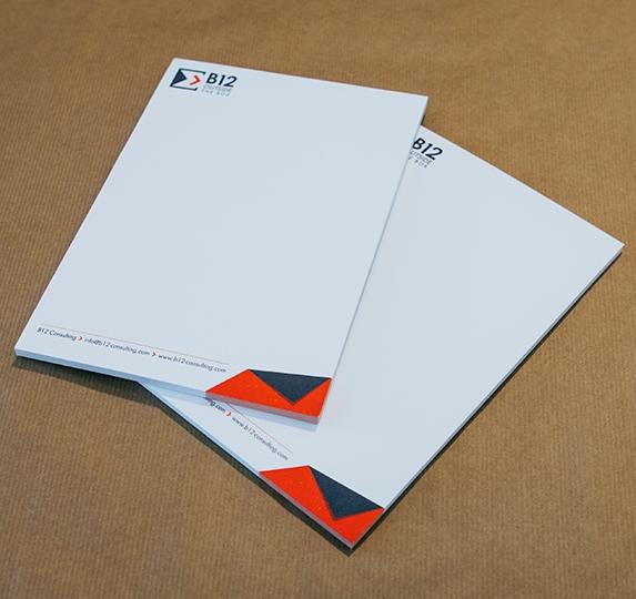 Papier à en tête B12 Consulting